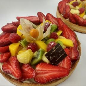 Tarte aux fruits assortis