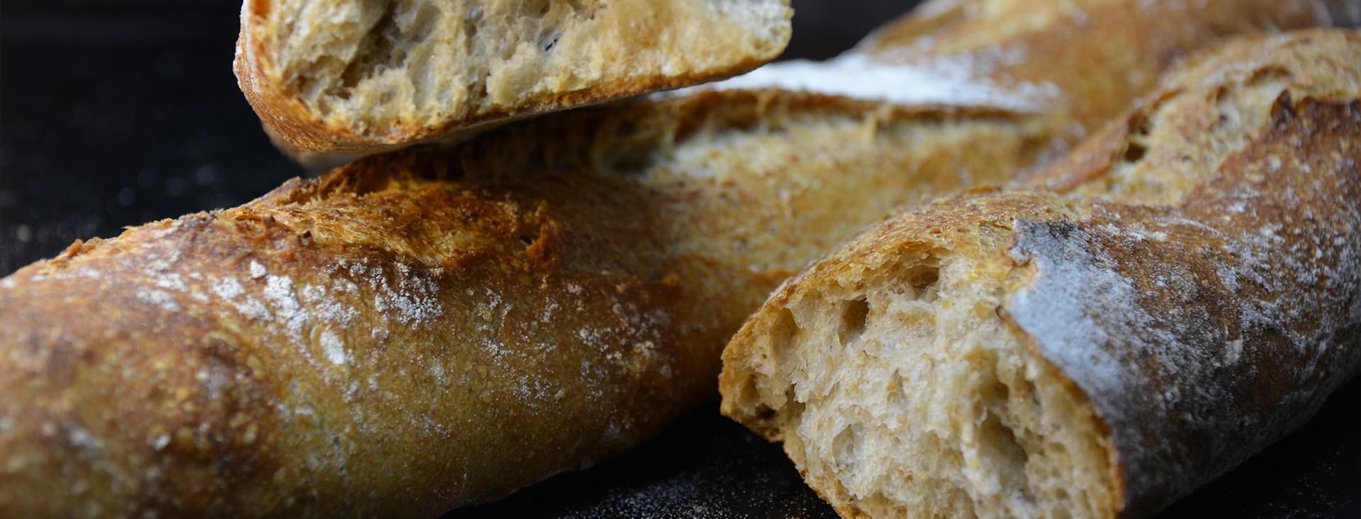 Baguette longue fermentation